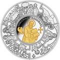 Либерия 100 долларов 2011 Апостол Иоанн (Пазл, Килограмм).Арт.009349544476/60