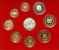 Монако 2004 8,88 евро Официальный годовой набор и 5 евро Святая Девота (9 монет).Арт.003475039221/60