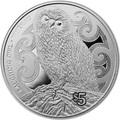 Новая Зеландия 5 долларов 2017 Сова.Арт.000511953982/60