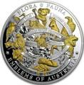 Ниуэ 10 долларов 2017 Флора и Фауна – Символы Австралии (Попугай Коала Кенгуру Вомбат Кукабарра Орел..).Арт.001776953992/60