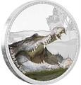 Ниуэ 2 доллара 2017 Морской крокодил серия Короли Континентов.Арт.000333653989/60