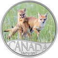 Канада 10 долларов 2017 Лиса с детенышем – 150 лет Празднования Канады.Арт.000196553933/60