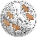 Канада 20 долларов 2017 Белка с дубовыми листьями.Арт.000439353939/60