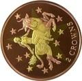 Гибралтар 2 кроны 2003 Европа (Биметалл).Арт.K2G2500D12299/60