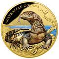 Ниуэ 100 долларов 2017 Ящерица Австралийский Варан Замечательные Рептилии (Niue $100 2017 Australian Goanna Remarkable Reptiles 1oz Gold Proof Coin).Арт.60