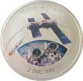 Острова Кука 2 доллара 2013 Космос Космический корабль Китая Шэньчжоу 6 (ShenZhou).Арт.000221853895/60