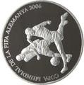 Андорра 10 динеров 2006 Футбол ФИФА 2006 Чемпионат мира в Германии (два игрока).Арт.000148654048/60
