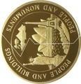 Кирибати 200 долларов Самоа 200 долларов 1999-2000 Люди и Сооружения Статуя Свободы Эйфелева Башня (Пазл).Арт.60
