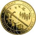 Кирибати 500 долларов Самоа 500 долларов 2000 Война и Мир (Пазл).Арт.54271/11700E/K9G1300E