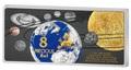 Соломоновы острова 5 долларов 2016 Солнечная система 8 в 1 (Solomon Islands 5$ 2016 Solar System Precious 8 in 1).Арт.001795453576/60