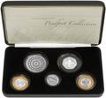 Великобритания 10,50 фунтов 2007 Набор пьедфорт (piedfort) 5 монет.Арт.000775353397/60