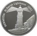 Бермуды 5 долларов 2002 Маяк Святого Давида.Арт.000393953890/60