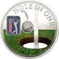 Острова Кука 5 долларов 2013 Гольф - PGA TOUR (Лунка).Арт.000416245189/60
