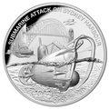 Ниуэ 1 доллар 2017 Подводная лодка – Нападение на Сидней-Харбор (Niue 1$ 2017 Submarine Attack on Sydney Harbour).Арт.60