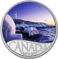 Канада 10 долларов 2017 Маяк Пегги Коув - 150 лет Празднования Канады.Арт.60