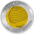 Палау 2 доллара 2017 Сатурн – Солнечная система.Арт.60