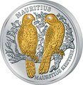 Либерия 10 долларов 2006 Маврикийская пустельга (Сокол) Mauritius Kestrel.Арт.000359153500/60