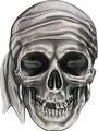 Палау 5 долларов 2017 Череп Пирата (Palau 5$ 2017 Pirate Skull).Арт.60