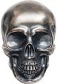 Палау 25 долларов 2017 Большой череп (Palau 25$ 2017 Big Skull).Арт.60