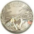 Камерун 1000 франков 2011 Любовь всегда – Лебеди (L`Amour toujours Antique) Голограмма.Арт.000227237050/60
