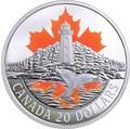 Канада 20 долларов 2017 Маяк Пегги Коув – Атлантическое побережье (Canada 20$ 2017 Atlantic coast lighthouse Peggy's Cove).Арт.000463154463/60