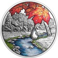 Канада 20 долларов 2017 Клен – Хрустальная капля (Canada 20C$ 2017 Jewel of the Rain Sugar Maple Leaves Swarovski).Арт.000554254478/60
