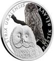 Ниуэ 1 доллар 2017 Уральская Сова – Под угрозой исчезновения (Niue 1 dollar 2017 Ural Owl Is endangered) Буклет.Арт.60