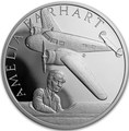 Ниуэ 1 доллар 2017 Амелия Эрхарт – Век полетов (Самолет Дирижабль Спутник) Niue 1 dollar 2017 Century of flight Amelia Earhart.Арт.60
