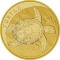 Ниуэ 250 долларов 2017 Черепаха (Niue 250$ 2017 Turtle 1 oz Gold).Арт.0080613/1170E/60
