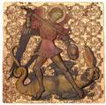 Ниуэ 2 доллара 2015 Святой Михаил – Мировое Наследие (Niue 2015 $2 World Heritage St. Michael 1 Oz Gilded Silver Coin).Арт.60