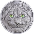 Канада 15 долларов 2017 Рысь (Canada 15$ 2017 Glow-In-The-Dark Coin Lynx).Арт.60