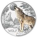 Австрия 3 евро 2017 Волк (Colourful Creatures The Wolf Austria 3 euro 2017).Арт.60