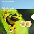 Люксембург 5 евро 2017 Лягушка Hyla Arborea - Флора и фауна Люксембурга (Luxembourg 5 Euro 2017 Frog Hyla Arborea).Арт.60