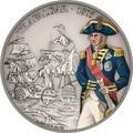 Ниуэ 2 доллара 2017 Трафальгарское сражение Адмирал Нельсон серия Битвы которые изменили историю (Niue $ 2 2017 Battle of Trafalgar).Арт.60