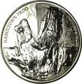 Новая Зеландия 5 долларов 2008 Лягушка Гамельтона (New Zealand 5$ 2008 Hamilton's Frog).Арт.60