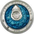 Барбадос 5 долларов 2018 Большая Белая Акула – Подводный Мир (Barbados 5$ 2018 Great White Shark Underwater World).Арт.60
