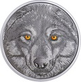 Канада 15 долларов 2017 Волк (Canada 15$ 2017 Glow-In-The-Dark Coin Wolf).Арт.60