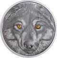 Канада 15 долларов 2017 Волк (Canada 15$ 2017 Glow-In-The-Dark Coin Wolf).Арт.60