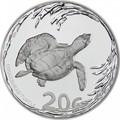 Южная Африка 20 центов 2013 Черепаха серия Охрана морских территорий (South Africa 20c 2013 Marine Protected Areas Turtle).Арт.000597344215/60