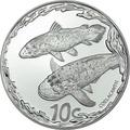 Южная Африка 10 центов 2013 Рыба Латимерия серия Охрана морских территорий (South Africa 10c 2013 Marine Protected Areas Coelacanth).Арт.000321544022/60