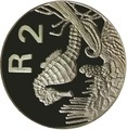 Южная Африка 2 ранда 1997 Морской Конек серия Охрана морских территорий (South Africa 2R 1997 Marine Protected Areas Seahorse).Арт.000107441962/60