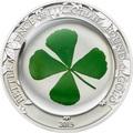 Палау 5 долларов 2013 Клевер – Унция удачи (Palau 5$ 2013 Ounce of Luck 4-leaf clover).Арт.60