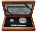 Южная Африка 2 ранда + 2,5 цента 2014 Электровоз – Поезда Южной Африки Набор из двух монет (Silver Proof Combo Set R2 and 2,5c 2014 South Africa Trains of South Africa Gautrain).Арт.001332650459/60