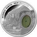 Новая Зеландия 1 доллар 2014 Хоббит Битва пяти воинств Дом Бильбо Дверь (New Zealand 1$ 2014 Hobbit The Battle of the Five Armies Bag End Silver Coin).Арт.000613950449/60