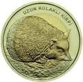 Турция 1 лира 2014 Ежик Биметалл (Turkey 1L 2014 Hedgehog BM).Арт.0000220050118/60