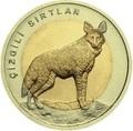 Турция 1 лира 2014 Волк Биметалл (Turkey 1L 2014 Wolf BM).Арт.0000220050118/60