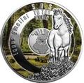 Ниуэ 1 доллар 2017 Лошадь Тарпан SOS (Niue 1$ 2017 SOS To The World They Are Gone Tarpan).Арт.60