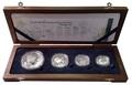 Южная Африка 85 центов 2013 Крылатка Черепаха Латимерия Рыба Клоун Морские животные Охрана морских территорий Набор 4 монеты (South Africa 85c 2013 Marine Areas 4 coin Prestige Set).Арт.002201444026/60