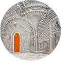 Палау 10 долларов 2018 Замок Саммеццано Ориентализм серия Тиффани (Palau 10$ 2018 Castle of Sammezzano Orientalism Tiffany Art).Арт.60