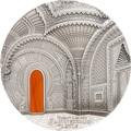 Палау 50 долларов 2018 Замок Саммеццано серия Тиффани Арт (Palau 50$ 2018 Castle of Sammezzano Tiffany Art).Арт.60
